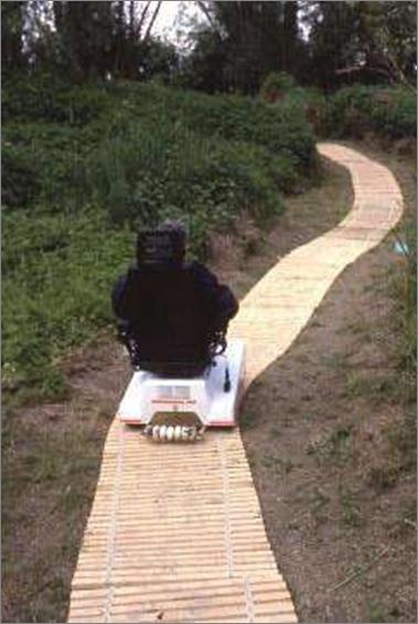 Takas, pritaikytas asmenims, naudojantiems vežimėlius